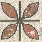 Керамическая вставка KERAMA MARAZZI  3,5х3,5 Аллея