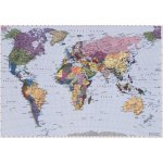 4-050 Фотообои Komar World Map