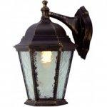 Светильник ARTE уличный настенный GENOVA A1201AL-1BN 1*100W E27