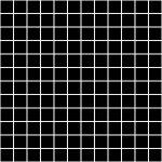 KERAMA MARAZZI Керамическая плитка мозаичная 29,8*29,8 Темари черный матовый 20071