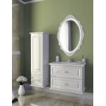 Зеркало EDELFORM МЕРО 80 белое 2-659-00-S