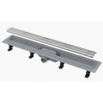 Желоб ALCA PLAST APZ10-750 SIMPLE водоотводящий с порогами, для перфорированной решетки
