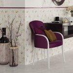 Кафель MEISSEN AMELIE 30x60 C-ALL451D рельеф многоцветный