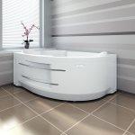 Акриловая ванна RADOMIR ИРМА 1 169х110 левая