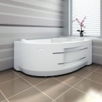 Акриловая ванна RADOMIR ИРМА 1 169х110 правая