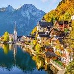 Фотообои 3-156  Moda Interio Осень в Альпах 2,7*2,7 м