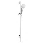 Душевой гарнитур CROMETTA 85 Vario/Porter C ручной душ,шланг 1,6м,хром 27559