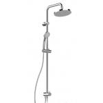 Душевая система IDEAL STANDARD РЕЙН ЭКО для настен.смес,верх.душ 200мм,3 функц,лейка 80мм ,шланг 1750мм A6281AA