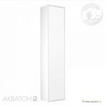 Пенал АКВАТОН СИМПЛ 54 см с бельевой корзиной 1A137403SL010