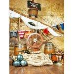 Фотопанно DIVINO H-051 Пиратское логово 200*270 (Холст)