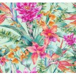 Фотопанно DIVINO H-077 Тропические цветы 300*270 (Холст)