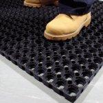 Резиновый коврик Ринго Мат 80*120 чёрный