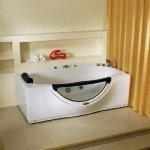 Акриловая ванна LORANTO CS-832L 1700*900*680 без гидромассажа