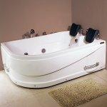 Гидромассажная ванна LORANTO CS-806R 1700*1200*600